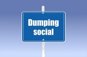 panneau dumping social