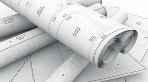 construction plans background